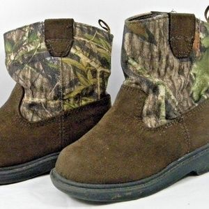 Other - Faded Glory infant toddler boots camoflauge size 5